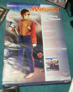 "MARILLION ""Misplaced Childhood"" Capitol VINTAGE RARE 1985 Promo Poster 24"" x 36"""