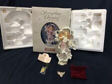 "Seraphim Angel 8"" Alanna Boundless Spirit Club Exclusive w Box & Dove Pin 84951"
