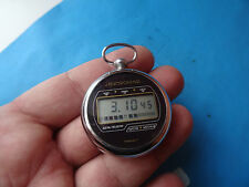 WINTAGE old Russian Soviet POCKET  watch ELECTRONIKA 5  very rare  1980 RETRO