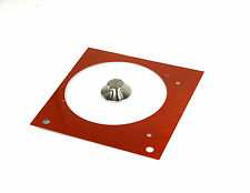 Tuning Set (1) Thorens TD 150 - Plaque frontale orange métallique + Poids de la