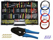 AMP Superseal Starter Set Stecker 1-6-pol mit Leitungen Auto KFZ LKW Crimpzange