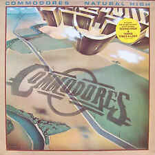 """COMMODORES NATURAL HIGH - AUSTRALIAN LP RECORD NEW AND SEALED VINLY 12"""" 33/3"""