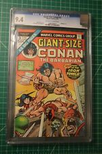 CONAN THE BARBARIAN GIANT-SIZE #3 CGC GRADED AT 9.4 OFF-WHITE TO WHITE PAGES