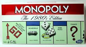 MONOPOLY Classic The 1980's Edition IN STOCK BRAND NEW FACTORY SEALED