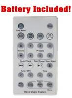 New Remote (White) For Bose Wave Radio/CD Music System AWRCC1 & AWRCC2