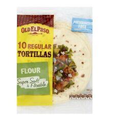 Old El Paso Regular Tortillas Burrito 10 pack 400g