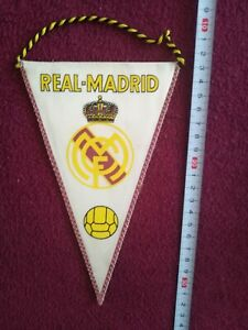Old Football pennant - Real Madrid