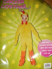 CHICKEN COSTUME BIG HEAD FANCY DRESS BRAND  NEW