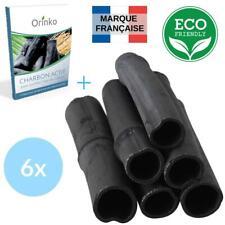 Binchotan Bio 6X | Charbon Actif de Bambou pour Purification d'eau...