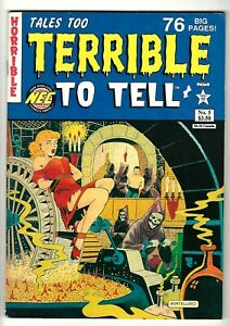 Tales Too Terrible To Tell #5 (1992) FN/VF