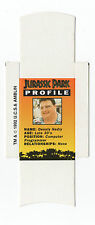 Bassett Barratt Jurassic Park Candy stick slide mint unfolded D Nedry Profile