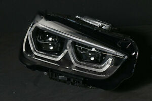 9477826 BMW X1 F48 LCI LED Adaptive Headlight Passenger Head Light Complete