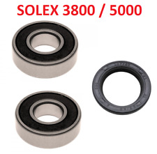 SOLEX 2200 3300 3800 5000 KIT ROULEMENT 6202 + 6203 + JOINT SPI SPY VILEBREQUIN