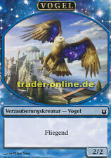 2x Spielstein - Vogel (Token - Bird) Born of the Gods Magic