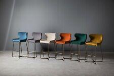 Bar Stool Plush Velvet Upholstery, High Quality, Diamond Stitched Kitchen New