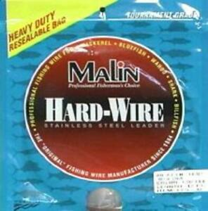 Malin LC5-42s S Brown Wire Size 5 42Ft Fishing Wire Leader Material