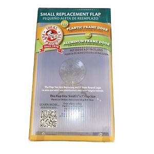 "Ideal Pet Products Small Dog Plastic Pet Door Flap Size 5"" X 7""  New"