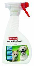 Beaphar Tappeto delle pulci Spray distrugge uccide e tiene lontano le pulci, 400 ML