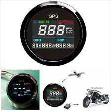New 52mm Motorcycle Boat Digital LCD GPS Speedometer Multi-indicators Waterproof
