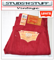 """NEW LEVIS 501'S STRAIGHT FIT JEANS W 33"""" L 30"""" APROX SIZE UK 12 / 14    ( T415"""