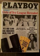 Playboy Magazine September 1979 Vicki McCarty Women of Ivy League Vintage Hefner
