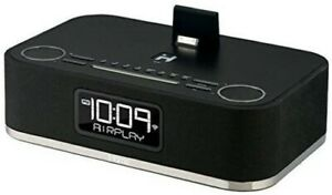 AirPlay Wireless Audio System iHome Stereo Speaker Rechargeable Battery Black