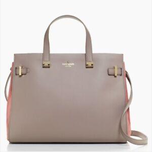 NWT $548 Kate Spade Knott Aisley Sac de Jour Smooth Leather Large Tote Purse Bag