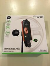 Belkin Tunebase Hand Free Fm transmiter and charger in one - iPhone 5/5c/5s