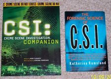 CSI Companion AND The Forensic Science of CSI - NEW - MINT - SC - Set of 2