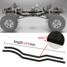 2pcs Carbon Fiber Chassis Frame Rails set for Axial SCX10 1/10 RC Crawler Car