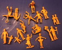 Lot 14 MARX Performer Figures Super Circus 1950s Play Set Vintage Rubber Set