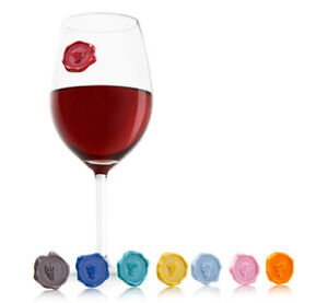 Vacu Vin Glass Markers Classic Grapes Wine Charms
