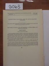 Govt Report Gainesville, McAlister & St. Louis Railway Co.Indian Territory 2063A