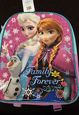 """Disney Frozen """"Family Forever"""" 15"""" Backpack with Ana, Elsa, & Olaf"""