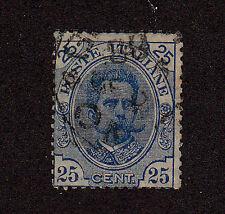 Italy-1891-96-SC 70-Used-Humbert I