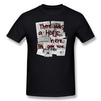 Silent Hill T Shirt There Was A HOLE Here It S Gone New T-Shirt Black