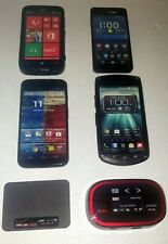 Verizon Cell Phone Prop / Display Dummy Model Toy Phone Mixed Lot Of 6 See Pictu