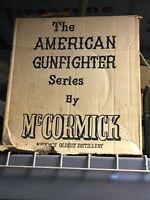 """McCormick """"American Gunfighters Series"""" Whiskey Bottles"""