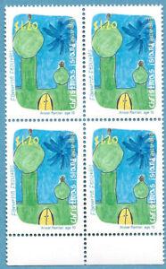 Christmas Island 1999 Festivals Childrens Paintings Block Stamp MNH BAB239