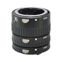 Xit Auto Focus Macro Extension Tube Set for Nikon D40 D3000 D3100 D3200 D50 D40X