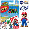 New Super Mario UNO Card Game Family Board Games Fun Playing Party Friends