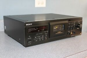 Sony TC-KA3ES stereo cassette deck DOLBY B C S HX with remote - SERVICED TESTED