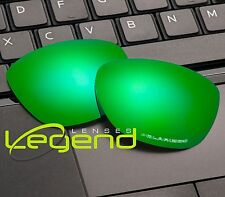 E72 Green ETCHED POLARIZED Replacement Legend Lenses For Oakley FROGSKIN