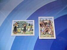 ALGERIA 2009 Olive Cultivation  Harvest  MNH set Unused stamps