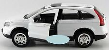 1/32 Diecast Car Alloy Toy White HONDA CRV Car Model W/light&sound Back Force