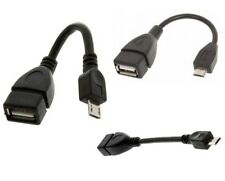 Micro USB Cable Male Host to USB Female OTG Adapter Tablet Phone PDA PC