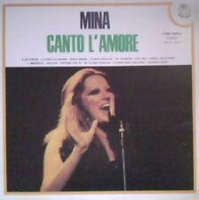 MINA  - CANTO L' AMORE  variety  ri-fi  LP 1973