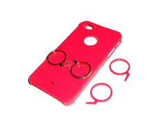 NEW RED SMARTEZ FINGER HOLDER APPLE IPHONE 4 4S CASE SUPER FAST SHIPPING