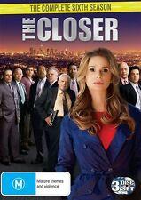 DVD - THE CLOSER SIXTH SEASON / SERIES 6 (DVD, 2011, 3-Disc Set) region 4