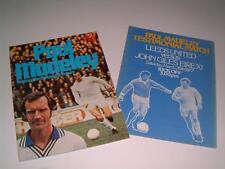 LEEDS UNITED FC LEGEND PAUL MADELEY RARE 1977 TESTIMONIAL BROCHURE & TEAM SHEET